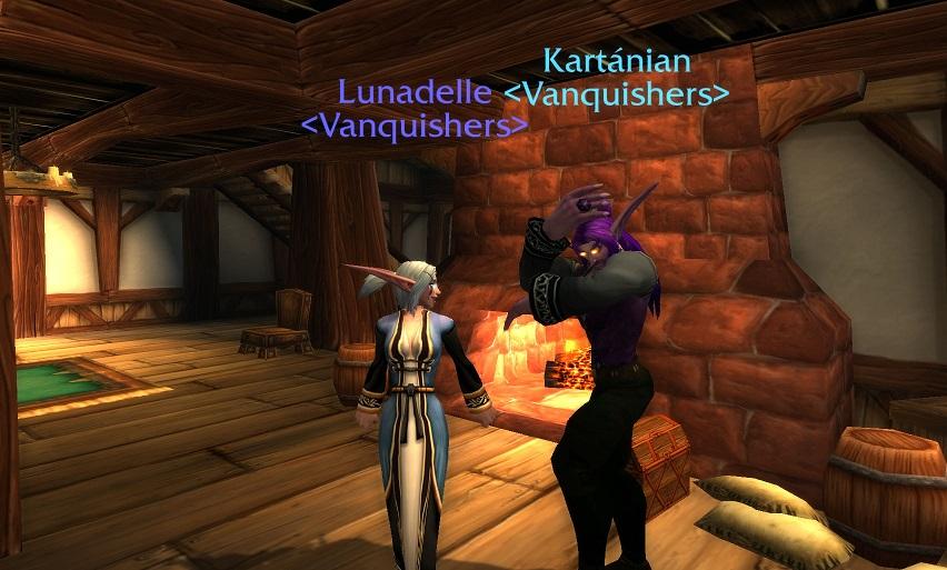 L and K dancing 7